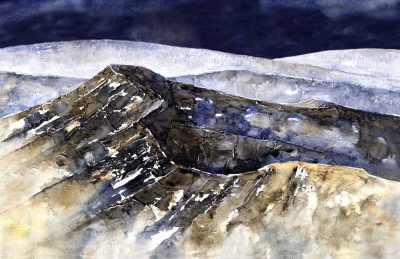 CRIBYN RIDGE REVISITED 11 x 17 72